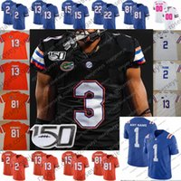 Wholesale new arrival jersey for sale - Group buy 2019 New Arrival Retro Florida Gators Chris Steele John Hins Nicolas Sutton Blue Men Youth Kid Pink Customized Black Jersey XL
