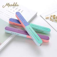 Wholesale set blocks resale online - MORDDA Set Nail File For Nail Art Limes Buffer For Manicure Professional File Pedicure Buffs Block Polisher