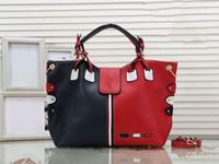 Wholesale red big handbags resale online - designer handbag purses women big bag crossbody designer luxury message bag contracted USA style fashion bag