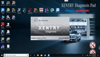 Wholesale 2020 For Mercedes Benz car diagnostic tool MB star C4 C5 v software supports offline and online SCN coding Multilingual software