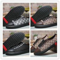 ingrosso la migliore banda di scarpe da corsa-2019 Best Business Business Low Band Traspirante Scarpe da corsa casual per le donne degli uomini di buona qualità Sneakers da viaggio in pelle taglia 38-44