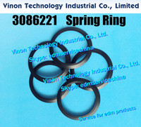 (5pcs) 3086221 edm Spring Ring for float nozzle lower 30x23x1.5tmm for Sodic k A320 A325, AQ325, AQ537 435196A, 0205140, MW411481D 87-3 type