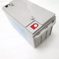 baterias de 12v com energia solar venda por atacado-Bateria de Íons de Lítio Profunda Lifepo4 12V 100ah / 150ah / 200ah / 300ah Ciclo de Bateria de Iões para RV / Sistema Solar / Iate / Carrinhos de Golfe de Armazenamento / Carro