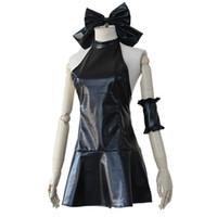 ingrosso costume saber-Fate / Notte Anime Fate Zero Saber Lily Costumi da bagno costume da bagno di Cosplay Abito da Arturia Pendragon nero Halloween Party rimanere