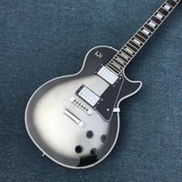 ingrosso qualità nuova elettrica-Nuovo arriva Custom Shop Silverburst Electric Guitar, chitarra Silver Burst di alta qualità, Real foto mostra, tutti i colori sono disponibili