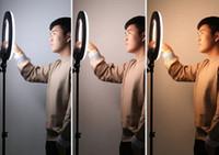 ingrosso lampada web-Ring Lighting Live Broad Casting Light Supplement Lampada Anchor Bellezza e pelle tenera Telefono cellulare Selfie Foto Graphy Shake Sound Web Celebr
