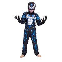 ingrosso costume nero di verme spiderman-Nuovo arrivo bambino nero Spiderman ragazzi muscolo veleno personaggio dei cartoni animati cosplay supereroe carnevale di halloween costume costume