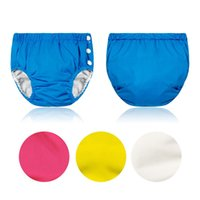 Wholesale nappy diaper summer resale online - Baby Diapers Washable Reusable Nappies Cotton Training Pants Cloth Diaper Baby Adjustable Summer Diapers Yards