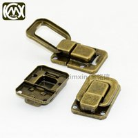 Wholesale small locks china for sale - Group buy Shenzhen sales wooden box Shenzhen China boxsales China gift boxlock small bronze color Iron Chinese lock gift box