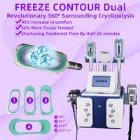 máquinas de congelación de liposucción al por mayor-Máquina de adelgazamiento por congelación de grasa crioterapia 5 en 1