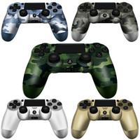 ingrosso logo imballaggio al dettaglio-SHOCK 4 Controller wireless Gamepad di altissima qualità per joystick PS4 con pacchetto Retail LOGO Spedizione veloce per controller di gioco