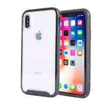Wholesale iphone protective case online - Luxury Designer High Transparent Phone Case for iphone plus xs xr xs max Shock Absorption Cellphone Protective Cover