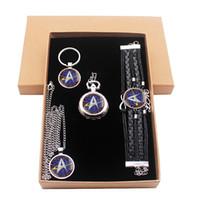 Wholesale acrylic key tags for sale - Fashion Star Trek Jewelry Gift Set  Have Pocket Watch 4a6e0c061f4a