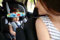correas para asientos infantiles al por mayor-Correa del asiento del automóvil Bebés Bebé Soporte para la cabeza del niño pequeño para el cinturón de seguridad del automóvil Banda del auto Asientos Correas Cubre Niños Sueño Sling Seguridad Soporte para dormir