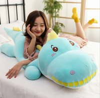 Wholesale toys companies resale online - Plush Animals doll new crocodile plush toy girl sleeping pillow company gifts doll factory direct