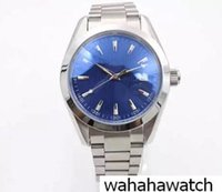 Wholesale pointer hand for sale - Luxury Brand Blue Dial Silver Stainless Belt Mens Watches Silver Stainless Pointer Watch Fashion High Quality Mens Sport watch