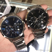 Wholesale hot buckles factory for sale - Group buy 2020 Hot Factory New AR2434 AR2448 AR2454 AR2453 AR11047 Stainless Steel Classic Mens Wristwatch Men Watch Original Box Drop S