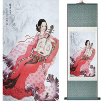 Wholesale nude girl paintings for sale - Group buy Pretty Girl Painting Chinese Art Painting Home Office Decoration Chinese Painting