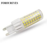 Wholesale warm white g9 halogen bulbs for sale - Group buy G9 LED Lamp AC220V LEDS SMD W Light Bulb LM super bright Chandelier LED Light replace W Halogen Lamp