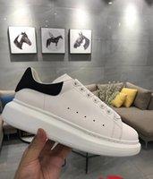 neue art lederschuhe großhandel-Neue Stil Top Qualität Modell Freizeitschuhe Reaktion Lässige Designer Schuhe Leder Erhöhen Walking Trainer Schuhe
