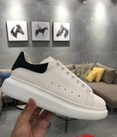 zapatos modelo al por mayor-Nuevo estilo Modelo de calidad superior Zapatos casuales Reacción Zapatos de diseñador ocasionales Aumento de cuero Zapatos para entrenar a pie