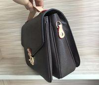 Wholesale small bamboo handbags for sale - Group buy high quality genuine leather women s handbag pochette Metis shoulder bags crossbody bags messenger bagM40780