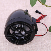 Wholesale hands free speakers resale online - Universal Motorcycle Bluetooth Radio Stereo Speaker Hands free Audio System High Quality Theft Protection Alarm