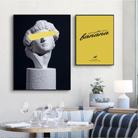 Wholesale spray painting art for sale - Group buy Retro Woman Sculpture Renaissance Art Poster Abstract Canvas Wall Print Painting Modern Style Picture Contemporary Room Decor