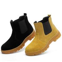 scarpe uomo Scarpe da lavoro stivali Punta in acciaio anti sfondamento anti piercing Uomo Protezione multifunzione Calzature Sicurezza