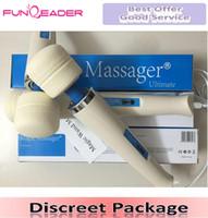 TOP Magic Wand Massager AV Powerful Vibrators,Magic Wands Full Body Personal Massager HV-260 HV260 box packaging 110-250V