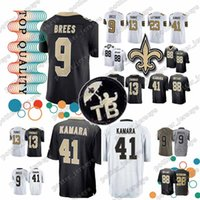 Cheap sales New Orleans Saints jersey 41 Alvin Kamara 9 Drew Brees 88 Dez  Bryant 23 Marshon Lattimore 13 Michael Thomas 28 Peterson jerseys ea32b9737