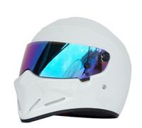 Wholesale motorcycle half helmets visor for sale - Group buy 2020 New Full Face FRP Motorcycle Helmet For TopGear The STIG Helmet Casco for SIMPSON capacete color Visor