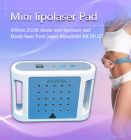 fett reduzierende massagegerät großhandel-Mini Lipo Laser Abnehmen Maschine 25 und 36 Dioden Mini Heimgebrauch Fett reduzieren Lipolaser Pads schlanke Ausrüstung