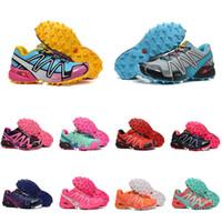 bayanlar için spor ayakkabıları toptan satış-Moda Büyük Boy Ayakkabı Womens Için Hız Çapraz 3 Koşu Ayakkabıları Bayanlar Tasarımcı Ayakkabı Kadın Açık Eğitmenler Spor Sneakers Eur 36-41