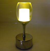 ностальгическое искусство оптовых-Led бар лампа зарядки небольшой ночной свет сенсорный творческий ресторан кафе вино ностальгический бар настольная лампа LLFA