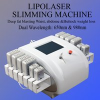 Wholesale machines for lipolysis for sale - 2019 Best Selling Smart Lipo Laser Machine Weight Loss Diode Lipo Laser Lipolysis Slimming Machine For Salon Use