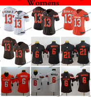 58b10c961 Wholesale baker mayfield jersey for sale - Womens Cleveland Ladies Browns Odell  Beckham Jr Baker Mayfield