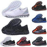 gel de zapatillas deportivas al por mayor-2019 asics Gel-Quantum 360 Clásico de calidad superior Zapatos para correr SHIFT Estabilidad triple negro blanco Teje Vamp Buffer Entrenador de entrenamiento atlético 36-45
