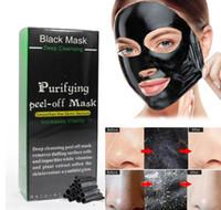 shills máscara de limpieza profunda al por mayor-SHILLS Deep Cleansing Black MASK 50ML Blackhead mascarilla facial Envío libre de DHL