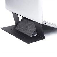 настольная подставка оптовых-2019 Невидимый Ноутбук Стенд Ультра Тонкий Регулируемый Портативный Складной Держатель Планшета Для IPad MacBook Air Mac Стол Tablet Mount