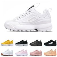 Wholesale red fashion shoes for men resale online - New Brand Disruptors II Casual Shoes for Men Women Triples White Gum Silver White Black Grey Fashion Outdoor Sports Sneaker Off Mens Shoes