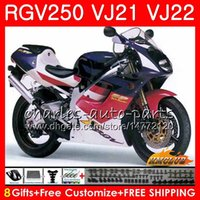 Wholesale fairing 1989 resale online - Body For SUZUKI RGV250 stock color Frame HC RGV VJ21 SAPC RGV VJ22 Fairings