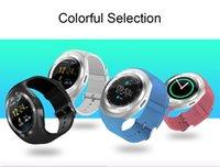 smart phone samsung uhren großhandel-Smart watch y1 smartwatch für apple iphone android samsung bluetooth digital handgelenk sportuhr sim kartentelefon