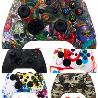 Wholesale thumb grip ps4 resale online - hAvfM New Rubber Silicone Thumbstick Thumb Stick Analog X Cover Case Skin Joystick Grip Grips For PS4 PS3 PS2 XBOX Cap ONE Controller202