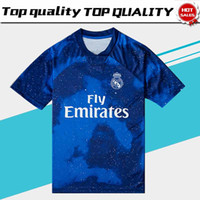 Wholesale limited edition soccer for sale - Group buy 2019 Real Madrid Limited Edition soccer Jersey Blue EA Sports Jerseys MARCELO MODRIC Real Madrid special version football Shirts