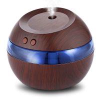 nebulizador umidificador venda por atacado-300 ml de ar aroma difusor de óleos essenciais usb umidificador ultra-sônico azul led fragrância aroma difusor nebulizador máquina spa
