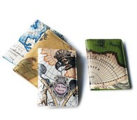 Wholesale bag world for sale - Group buy 3pcs World Map Printing Travel Passport Holder Cover ID Card Bag Passport Protective Sleeve Women s Storage Bag