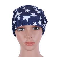 bonnets floraux achat en gros de-Bonnet de bain femmes adultes enfants Bonnet de bain chapeau floral Bonnets de bain Nouvel arrivage