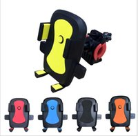 Wholesale bike phone mount iphone for sale – best Universal Rotation Bike Bicycle Motorcycle Handlebar Mount Holder Phone Holder With Silicone Support Band For Iphone