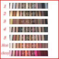 Wholesale waterproof color palette makeup for sale - Group buy Face Makeup Eye Shadow color eyeshadow palette with Brush Smoky Matte Nude colors eye shadow heat cherry